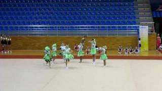 Выступления юных гимнастов(Барыни сударыни)