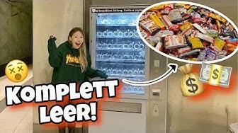 Ich kaufe einen KOMPLETTEN Automaten leer !! | Bibi