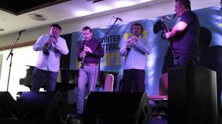 Clarinet Factory at Red Sea Jazz Festival - Vltava (The Moldau)