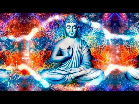 396 hz ॐ︎ OVERCOME all FEARS ॐ︎ Lotus Buddha Cosmic mandala Meditation  ॐ︎
