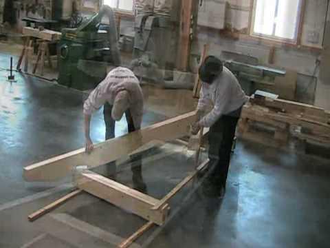 charpente alsace - Montage auvent - Fabricant charpente Alsace