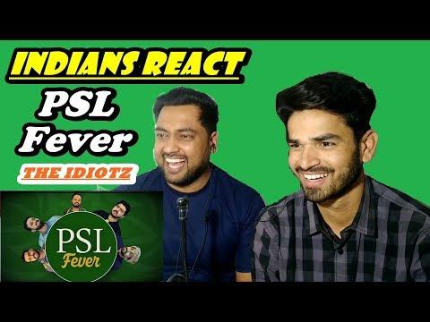 Indians React to PSL Fever | Pakistan Super League |The Idiotz thumbnail