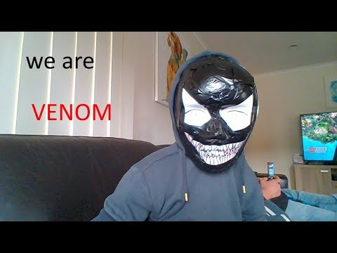 making a venom mask