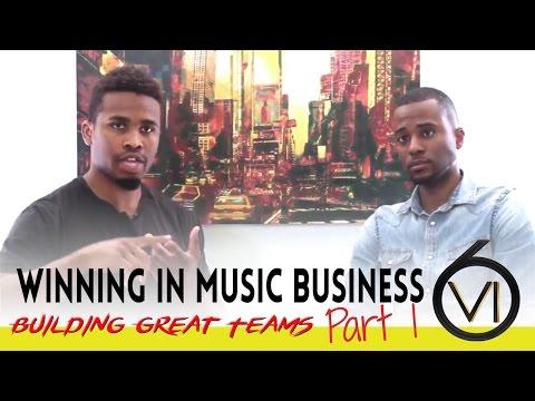 Ep 35  Music Business: Building Great Teams: w Brandman Sean & Sirr Love Part 1