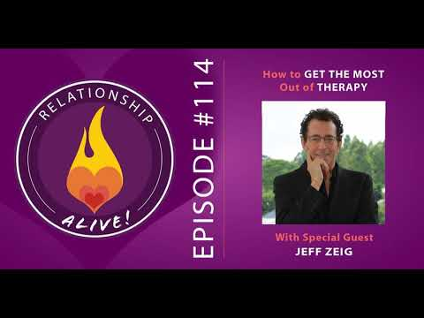 114: How to Get the Most Out of Therapy - with Jeff Zeig