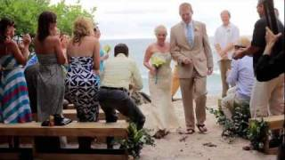 Costa Rica wedding video: Carley & Matt hights