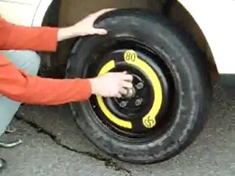 how to change a tire on a audi a4 youtube. Black Bedroom Furniture Sets. Home Design Ideas