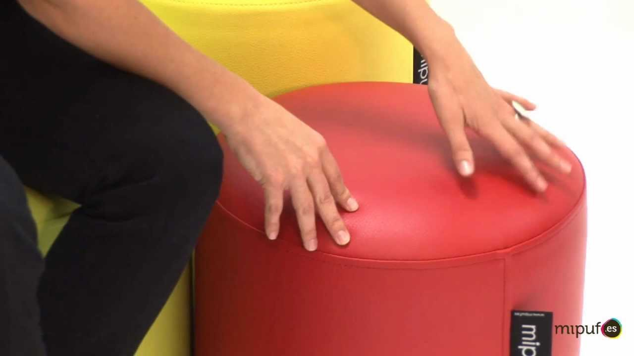 Mipuf puff taburete youtube - Como hacer un puff redondo ...