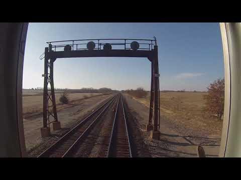 Amtrak Southwest Chief - Marceline, MO - La Plata, MO