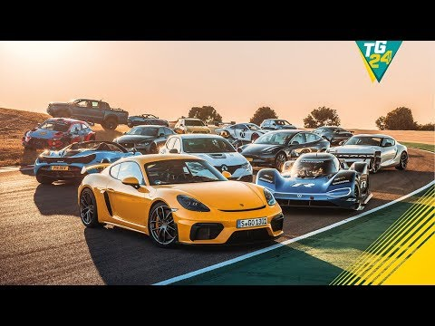 The Contenders   Performance Car Of The Year 2019   Top Gear