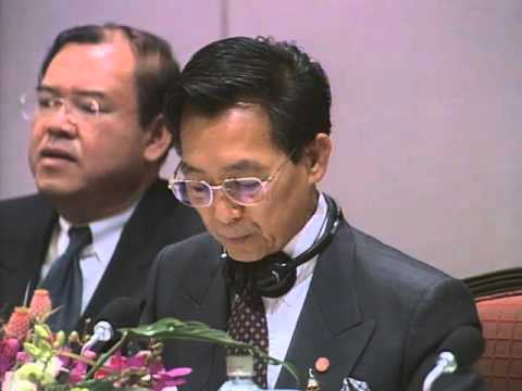 ASEAN Japan meeting at the 10th UNCTAD, including speech by Prime Minister Obuchi (2000) (1/2)