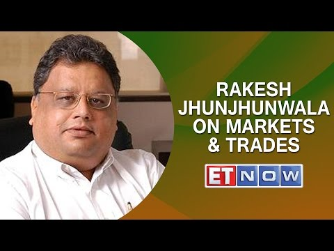 Rakesh Jhunjhunwala on Markets & Trades | ET NOW Exclusive