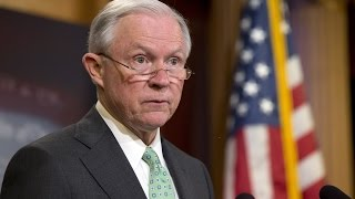 Jeff Sessions: 'We're Seeing Real Violence' With Weed Legalization Free HD Video