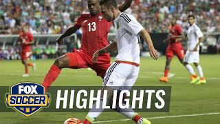 Panama vs. Mexico - 2015 CONCACAF Gold Cup Highlights