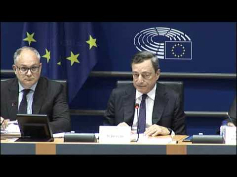 29 May 2017: Mario Draghi at the hearing of the Committee on Economic and Monetary Affairs of the EP