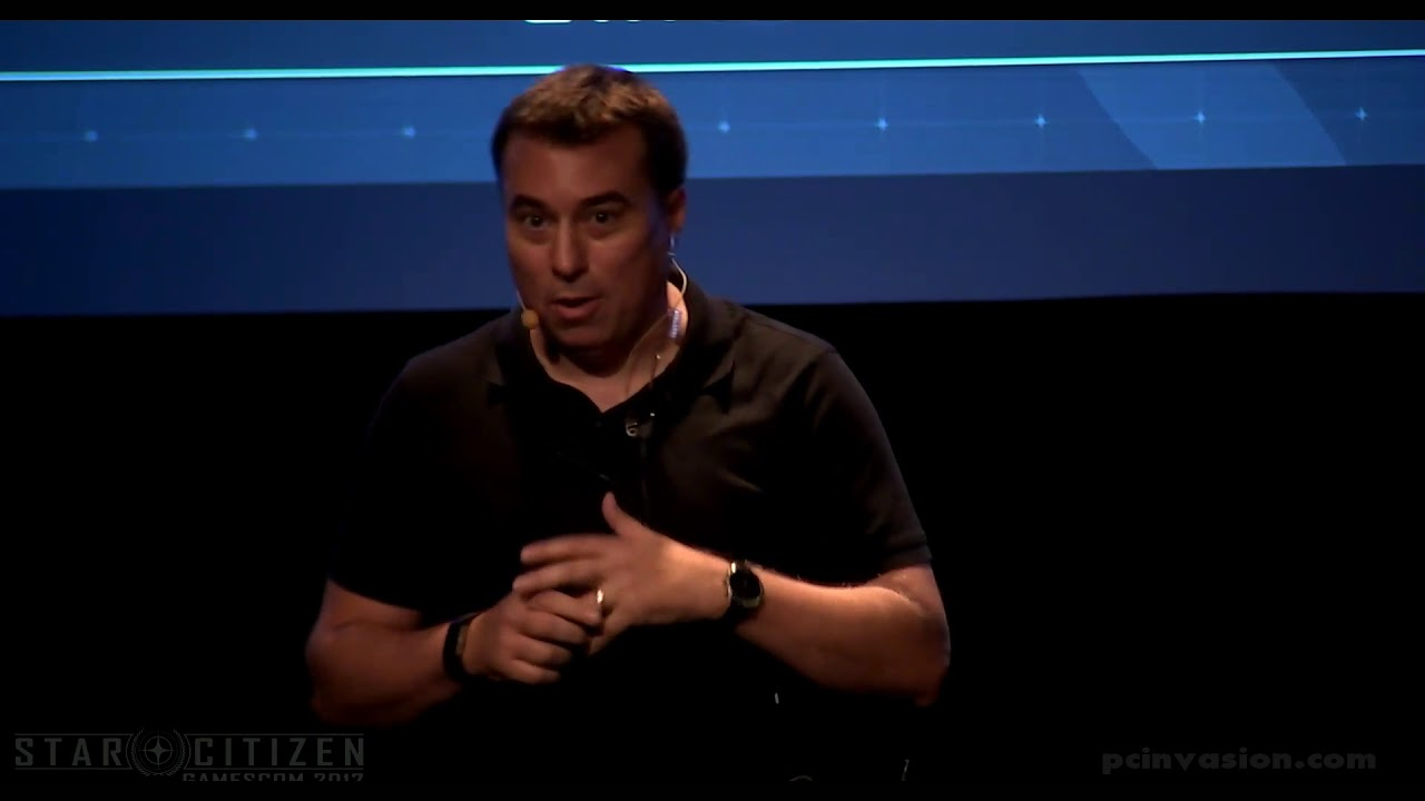 Star Citizen Gamescom 2017 Presentation - 3 0 and Face Over Internet