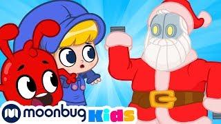 My Magic Pet Morphle - Robot Santa! | Christmas Full Episodes | Cartoons for Kids | ABCs & 123s