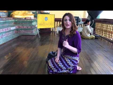 Myanmar- inside Shwedagon Pagoda Yangon