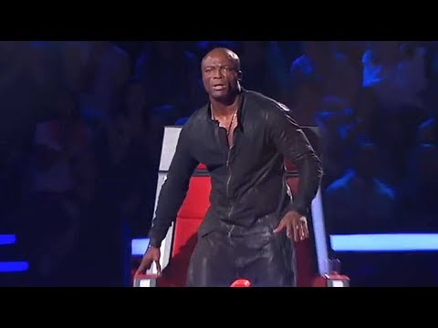 Shakira Shocked in the voice