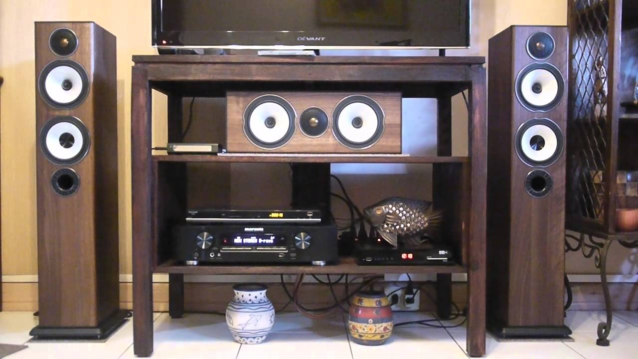 Monitor Audio BX5 and BX Center Sound Test  YouTube