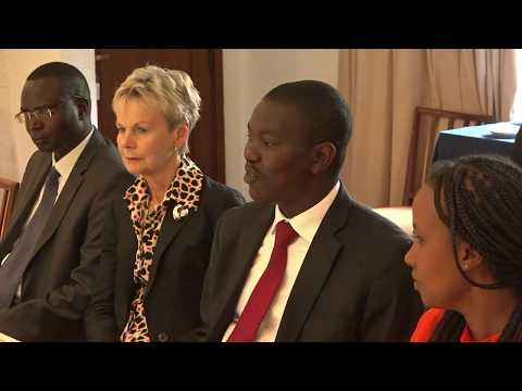 Uasin Gishu county enters a bilateral partnership with Swedish Government on Waste Management