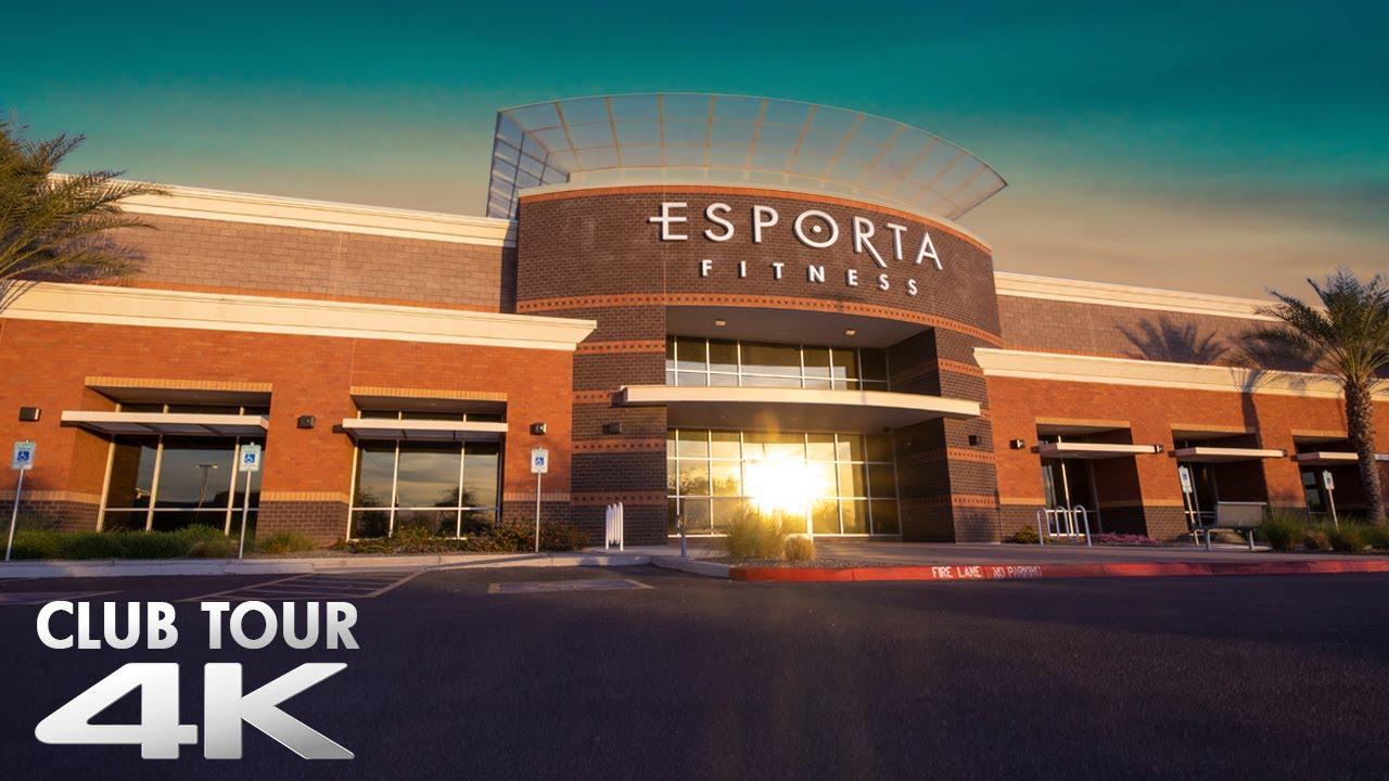 Esporta Fitness Club Tour 4k Youtube