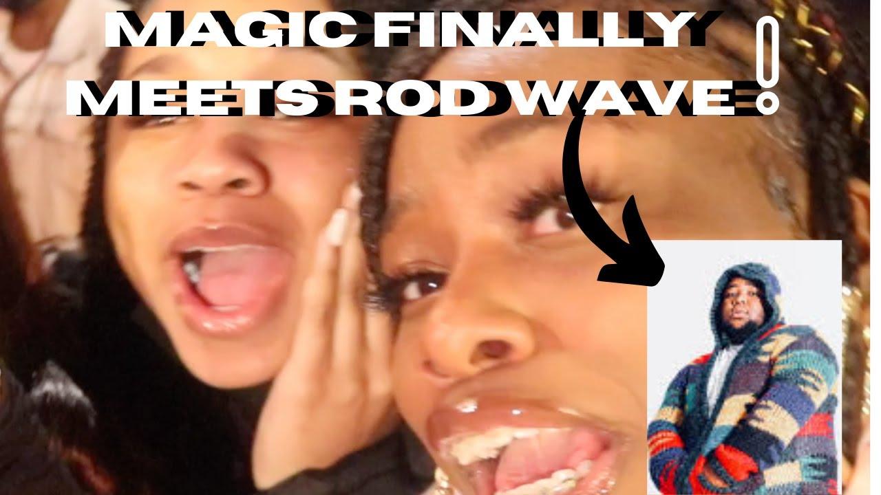 Magic FINALLY MEETS ROD WAVE + @Sister Sister photoshoot