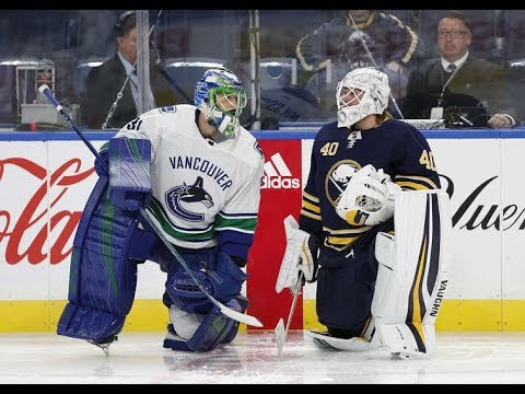 Vancouver Canucks vs Buffalo Sabres - October 20, 2017 | Game Highlights | NHL 2017/18