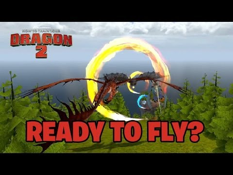 How to Train Your Dragon 2 - 3DS / Wii / Wii U / X360 / PS3 - Ready to fly? (trailer)