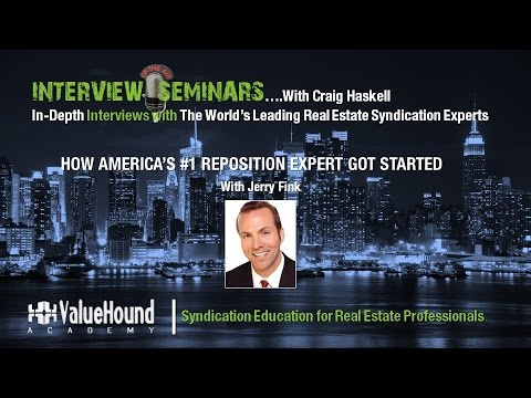 How America's #1 Multifamily Reposition and Renovation Investor Got Started Featuring Jerome Fink