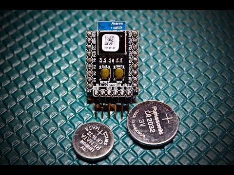 Low Power Bluetooth Low Energy!  with the BLE Board