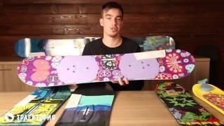 Выбираем детский сноуборд: обзор досок Burton для малышей