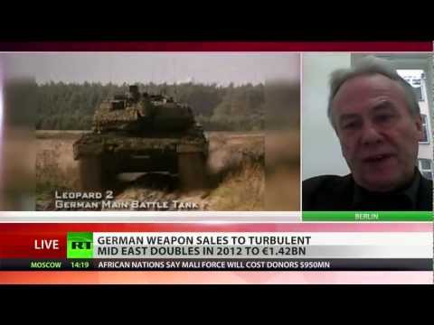 War Lord: Germany doubles arms export to Gulf nations