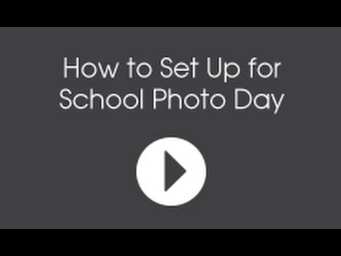 How to Set Up for School Photo Day, 4 of 5