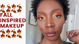 🍁🍂Fall Leaves Eyeshadow Tutorial🍁🍂|Juvia's Place Nubian 2 Palette|WOC