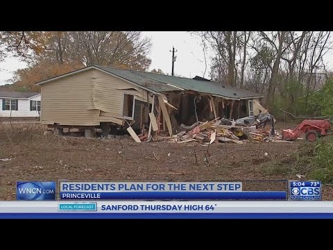Princeville residents weigh option of taking FEMA buyout to
