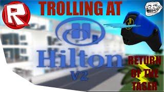 ROBLOX Trolling at Hilton Hotel