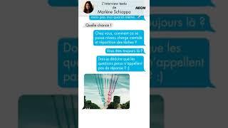 L'interview Texto de Marlène Schiappa