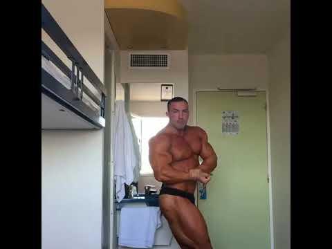 Milan Oboril posing