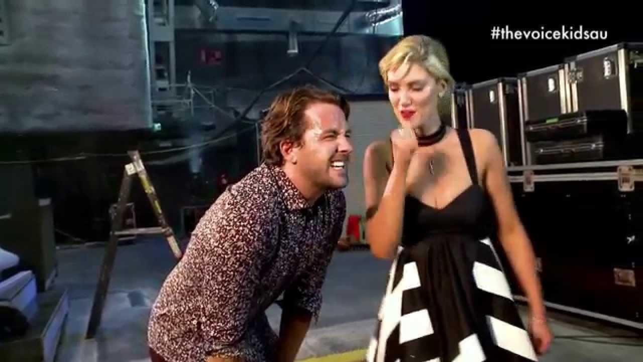 Delta VS Darren | The Voice Kids Australia 2014