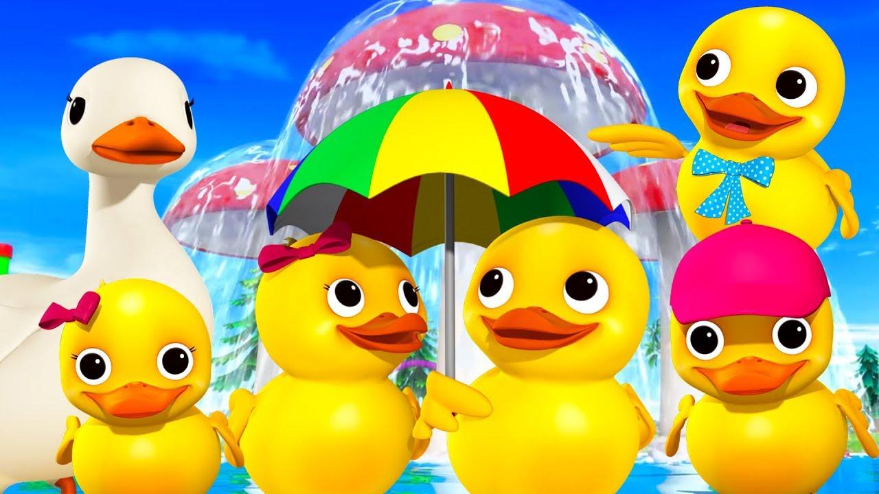 Five Little Ducks More Nursery Rhymes And Kids Songs