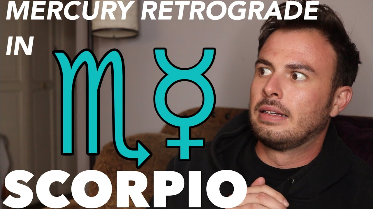 Mercury Retrograde In Scorpio Is Here, But Not For Long