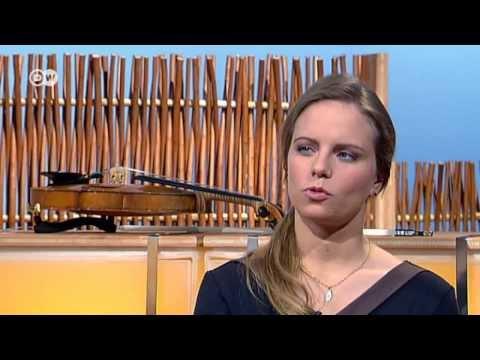 Talk mit der Geigenvirtuosin Julia Fischer  Typisch deutsch