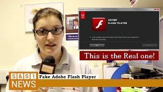 SAS1 NEWS: Fake Adobe Flash Player Update Virus