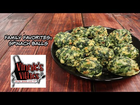 Spinach Balls | Family Favorites Series: Episode 6