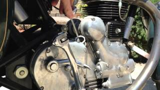 How To Check The Oil On A Royal Enfield Bullet