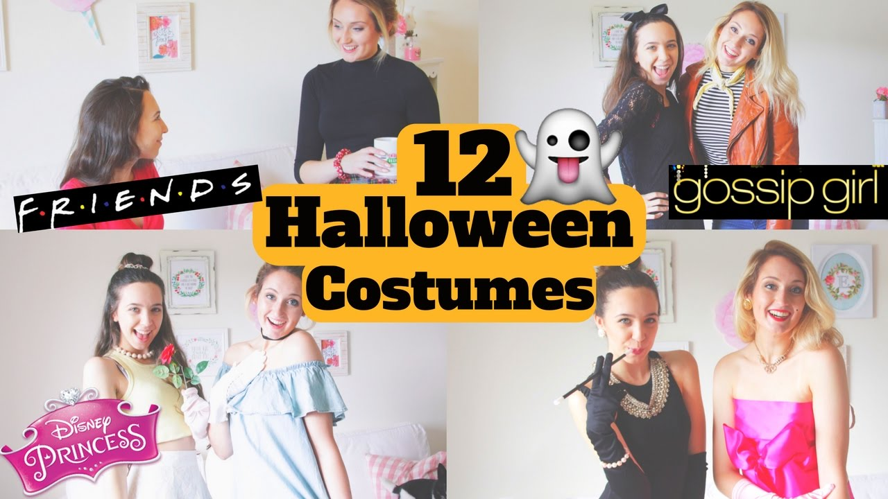 12 Diy Halloween Costumes Easy And Afforable Best Friend Costumes