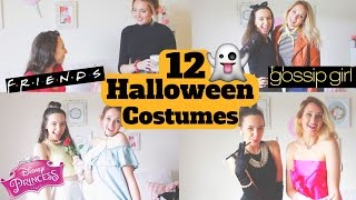 12 diy halloween costumes! easy and afforable best friend costumes