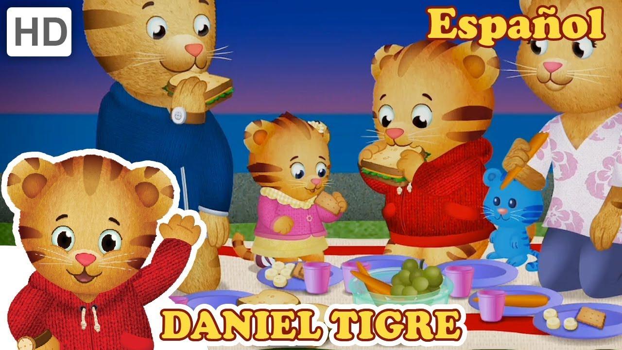 Daniel Tigre en Español - Picnics en el Barrio! | Videos ...