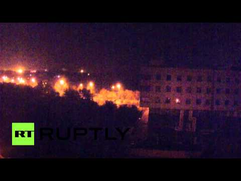 Massive shelling pounds Donetsk airport